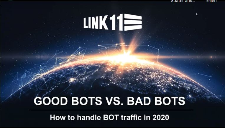 Good BOTs versus Bad BOTs – How to Handle BOT Traffic in 2020?