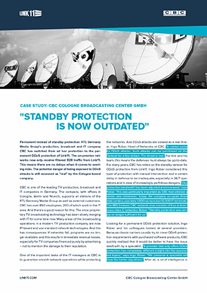 Case Study: Permanent Instead of Standby DDoS Protection