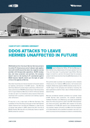 Case Study: DDoS Attacks to leave Hermes unaffected in Future